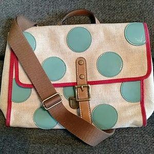 FOSSIL aqua dot bag